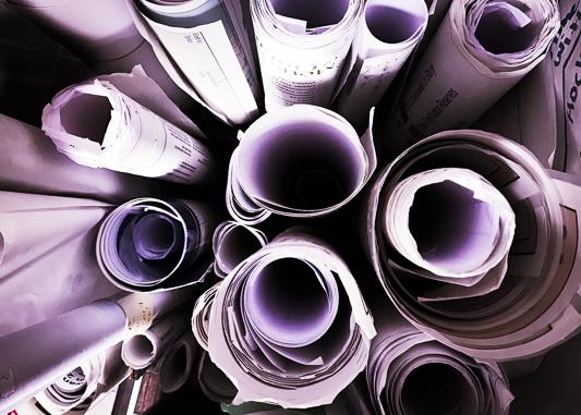 Scrolls of documents